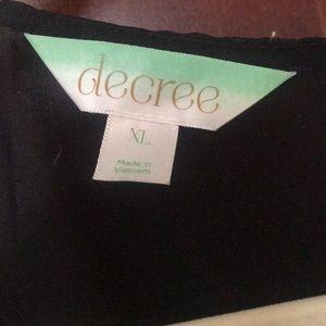 Decree Other - Black Kimono